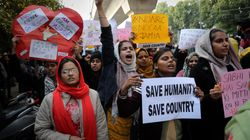 Anti-CAA Protests In Delhi: Protesters Detained Near Red