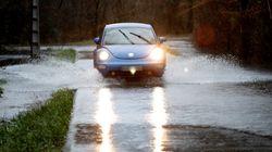 Tiempo: la borrasca 'Elsa' deja ya vientos de hasta 130 km/h y lluvia de hasta 80