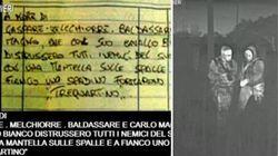 Il pizzino per promuovere degli affiliati alla 'Ndrangheta: