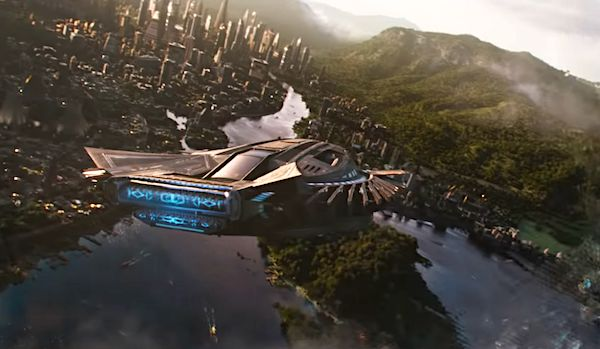 Black Panther's fictional land, Wakanda.