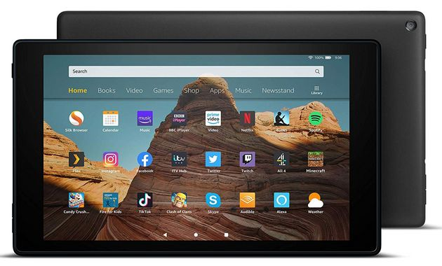 Fire HD 10, Amazon, was £149 , now £109.99