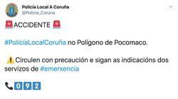 Bromas con esta alerta de la Policía de A Coruña en Twitter: ojo a las fotos que han