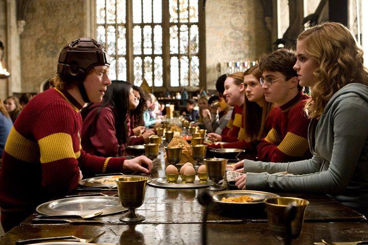Σκηνή από την ταινία «Χάρι Πότερ».