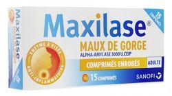 Le Maxilase et autres comprimés contre le mal de gorge ne seront plus en accès libre en