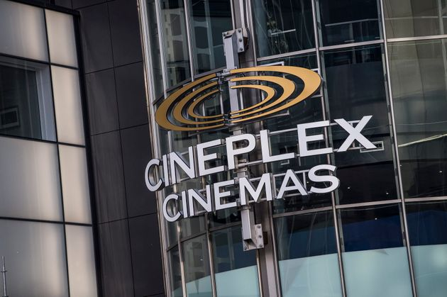 A Cineplex movie theatre is seen here in midtown Toronto on Dec. 16, 2019. The cinema chain represents...