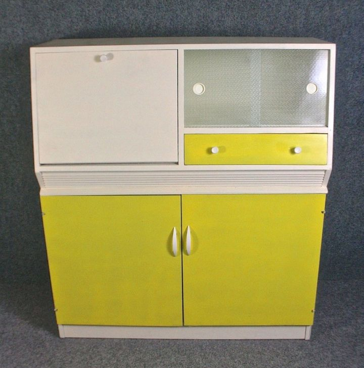 "<a href=""https://www.elephantandmonkey.co.uk/product/1950s-kitchen-cabinet-by-remploy/"">Retro Kitchen Cabinet, Elephant and Monkey,</a> (&pound;155)"