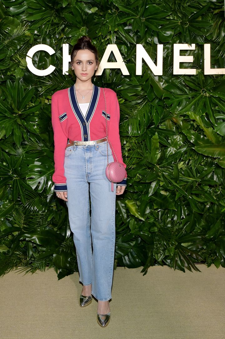 Maude Apatow at a dinner hosted by Chanel in Los Angeles on Sept. 12, 2019.