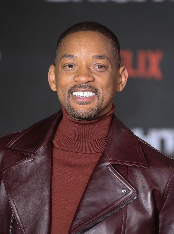 "Will Smith at the premiere of ""Bright"" in London on Dec. 15, 2017."