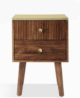 """<a href=""""https://fave.co/2s25VwB"""" target=""""_blank"""" rel=""""noopener noreferrer"""">Padma 2 Drawer Bedside Table, John Lewis,</a> &pound;199"""