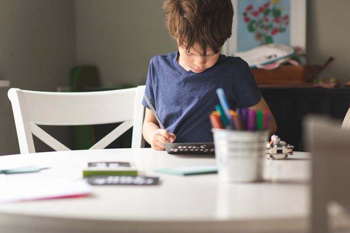 Don't over-instruct your kids on what to write. Let them put their own personal touch on the letter.