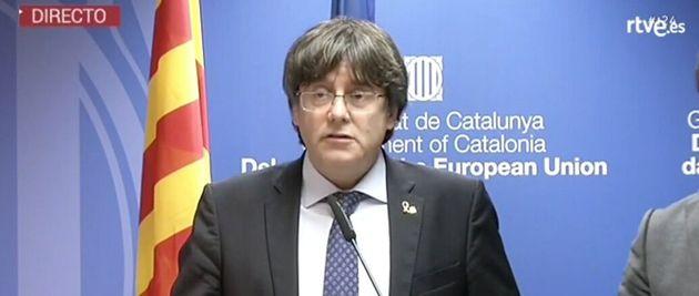 Carles Puigdemont, desde