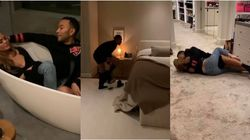 Pantsless John Legend And Chrissy Teigen Are Kris Jenner's Worst Dinner Guests