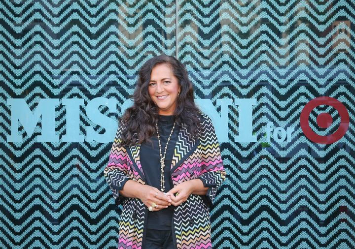 Angela Missoni launches the Missoni for Target collection in Australia on Oct. 8, 2014.