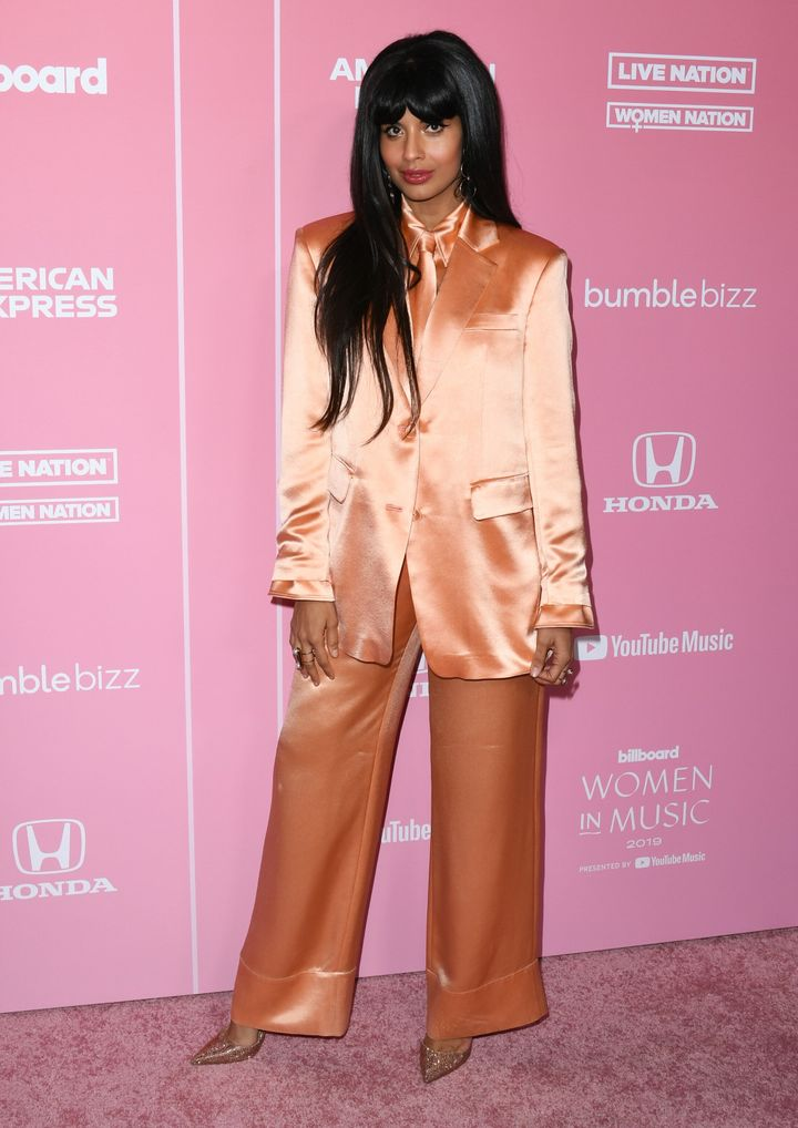 Jameela Jamil at the Women in Music Billboard event in Los Angeles on Dec. 12, 2019.