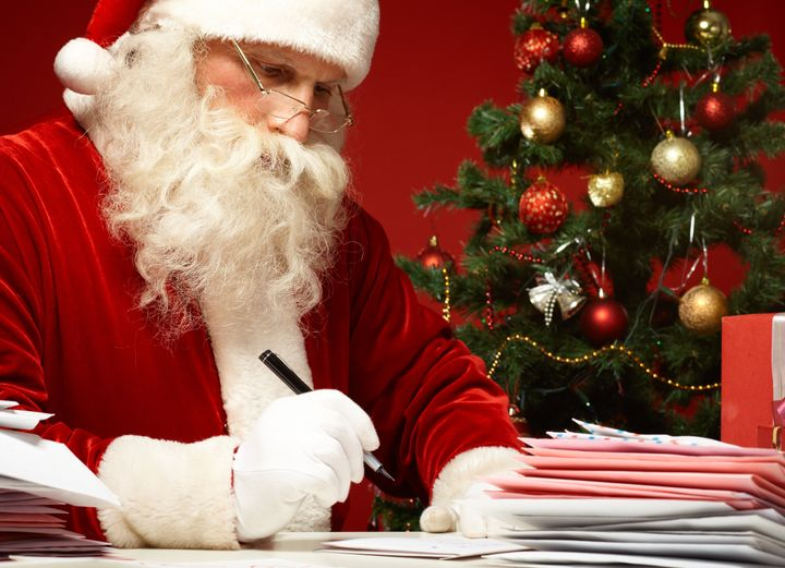 A personal message from Santa is the perfect pick-me-up for a kid who's missing out on Christmas fun.