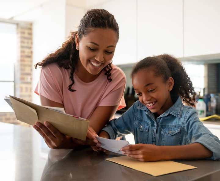 """""""It's a good idea to explain to children why writing thank-you notes is important: It shows they are being thoughtful, respectful and appreciative of others,"""" Newman said."""