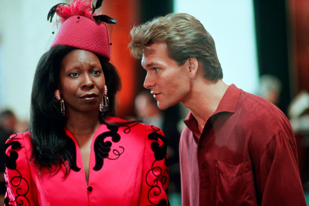 """Whoopi Goldberg and Patrick Swayze in 1990's """"Ghost."""""""