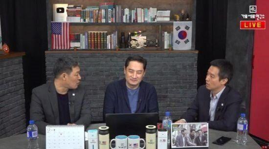 김용호 전 기자, 강용석 변호사, 김세의 전