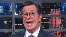 Colbert Hat Eine Mutige Vorhersage Über Den Nächsten Präsidenten der Erste Tag Im Office
