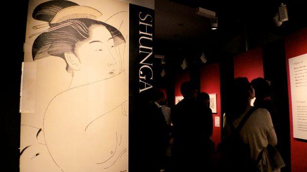 2015年、私立博物館「永青文庫」で開催された「春画展」。年間2万人の来館者だった永青文庫に、会期中の3カ月で21万人が押し寄せた