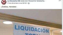El doble sentido de un cartel visto en un escaparate de una zapatería que arrasa en Facebook: casi 6.000