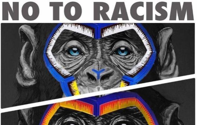 Le logo anti-racisme commandé par la Ligue italienne de Football avait provoqué l'indignation...