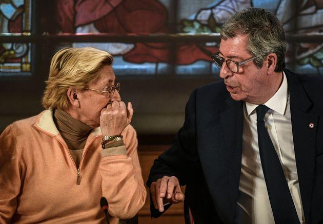Isabelle et Patrick Balkany, le 15 avril 2019 au conseil municipal de