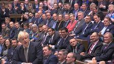 BorisジョンソンBrexitの対応承認され鍵の投票