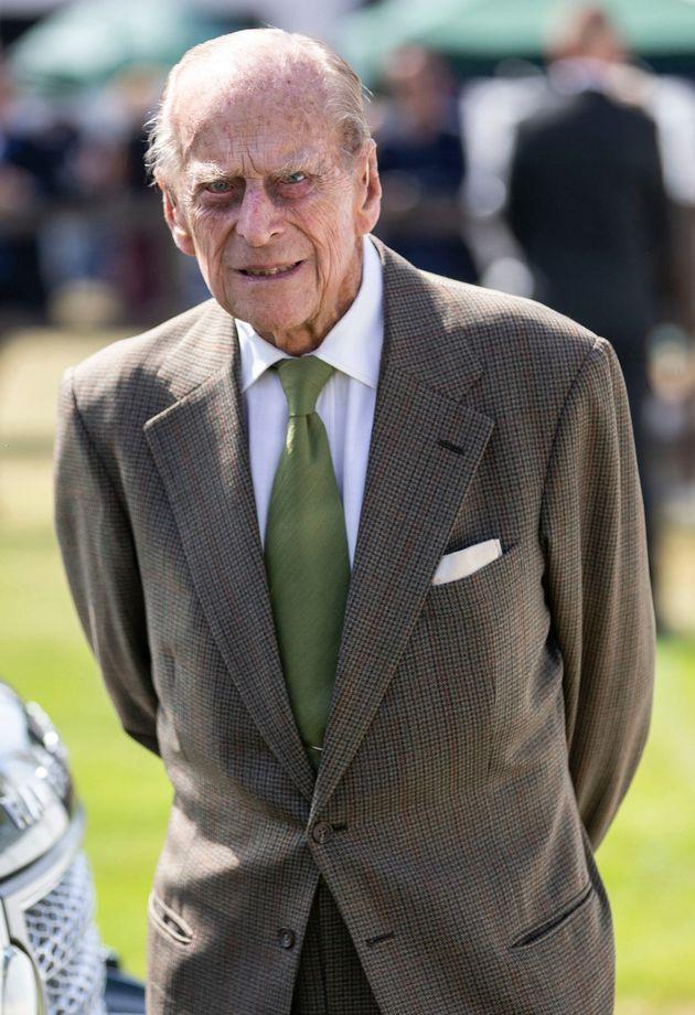 Prince Philip, the Duke of Edinburgh, celebrating his 98th birthday in