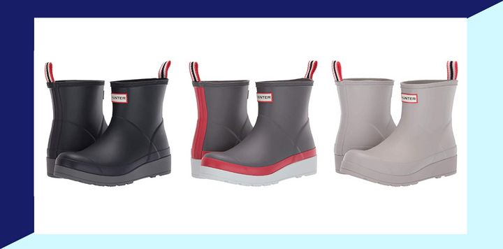 These Hunter boots will get you through the rainy, wintery days ahead.