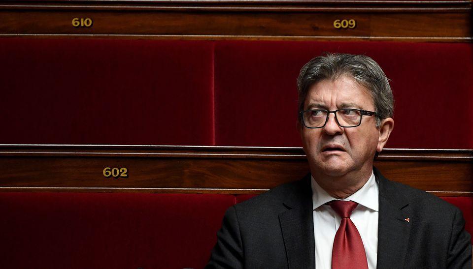 Jean-Luc Mélenchon à l'Assemblée nationale le 7