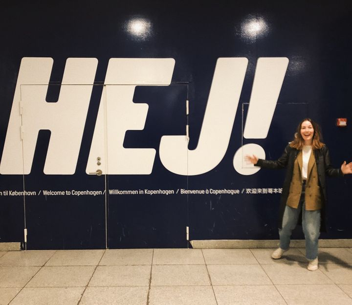 McCrory arriving in Copenhagen in 2019.