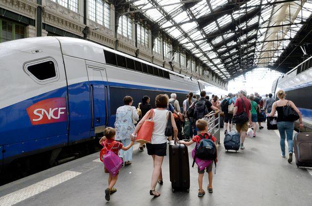 Finalement, la SNCF débloque 5000 places pour les enfants (photo prise le 3 août