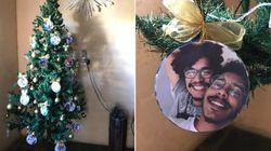 Mãe do youtuber Murilo Araújo fez um enfeite que todo LGBT gostaria de ter na árvore de