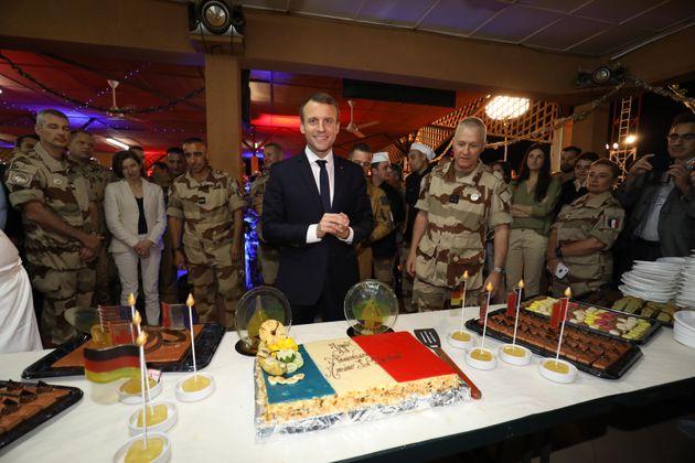 Découvrez le menu du Noël de Macron avec les troupes françaises en Côte d'Ivoire...