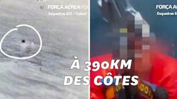 Après la tempête Elsa, l'armée de l'air portugaise sauve deux marins