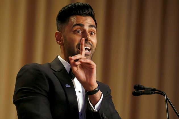 Hasan Minhaj of Comedy Central performs at the White House Correspondents' Association dinner in Washington,...