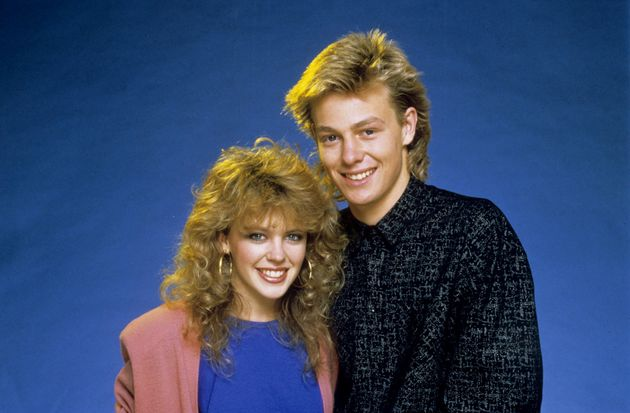 Kylie and Jason Donovan back in