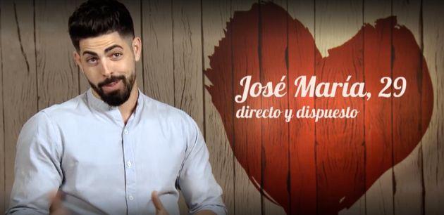 José María, concursante de 'First Dates' que ha indignado a la audiencia con su