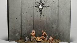 Il presepe di Banksy a Betlemme risveglia ancora una volta le coscienze di