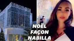 Nabilla a littéralement habillé sa maison de décorations de