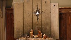 À Bethléem, Banksy expose une crèche de Noël