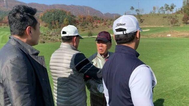 '골프장 스윙·12.12 샥스핀 만찬' 임한솔의 전두환