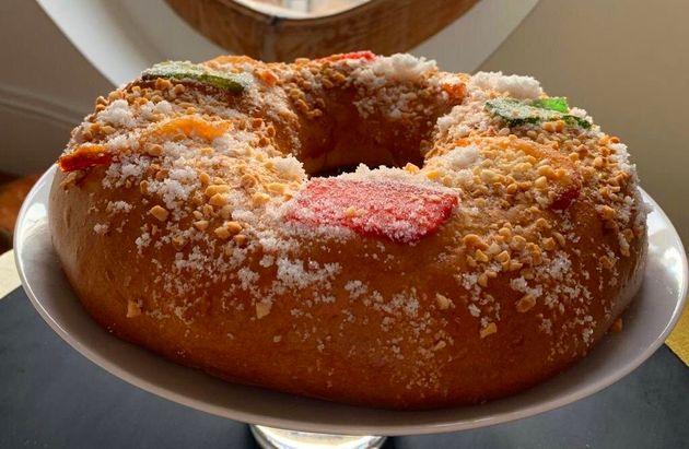 Este roscón de Reyes quedó entre los tres mejores de Madrid... y puedes hacerlo en tu