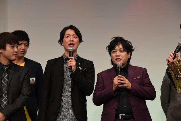 (左から)シュウペイさん、松陰寺太勇さん