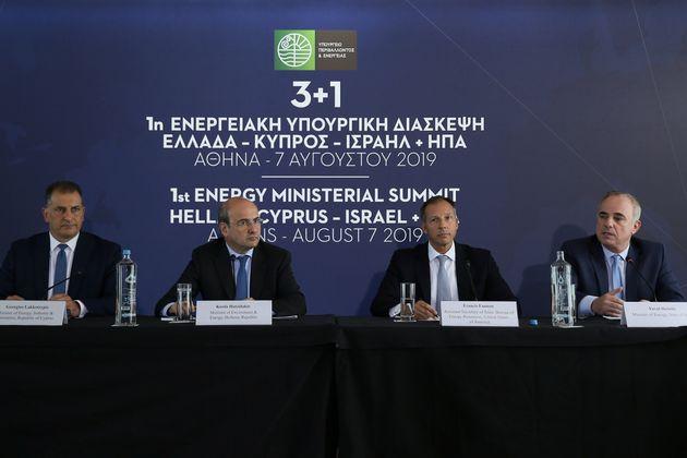 Στις 2 Ιανουαρίου πέφτουν οι υπογραφές μεταξύ Ελλάδας, Κύπρου και Ισραήλ για τον
