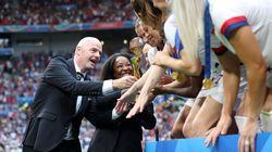 Para impulsionar modalidade, Fifa estuda realizar Copa do Mundo feminina a cada dois