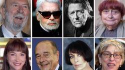 Jacques Chirac, Agnès Varda, Karl Lagerfeld... Ils nous ont quittés en