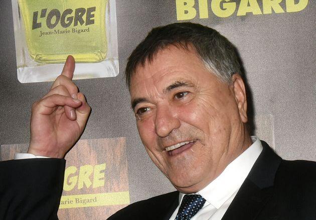 Jean-Marie Bigard, ici à Paris le 28 octobre