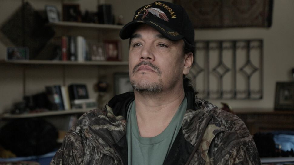Rattler, legal name Michael Markus, is a 46-year-old Marine veteran who is the descendant of Chief Red Cloud, the Lakota lead